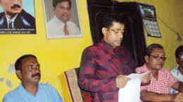 আত্মপক্ষ সমর্থনে সংবাদ সম্মেলন করেছেন এমএম জামান মিল্লাত